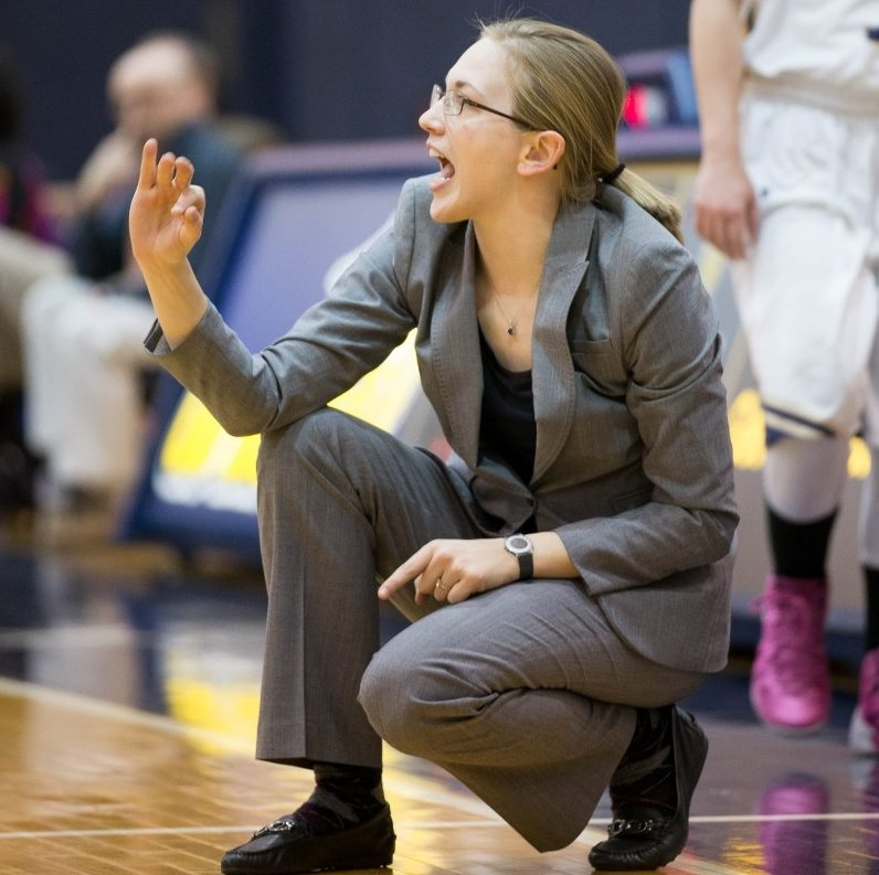 Head Coach Stephanie Stevens